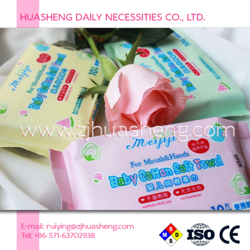 Baby Dry Cleansing Wipes hand Wipes