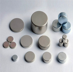 Permanent Sintered Neodymium Round Disc Magnets N35 Grade Nickel Coating