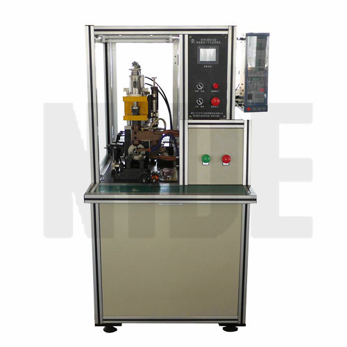 COMMUTATOR WELDING MACHINE HOT STACKING MACHINE WITH MIYACHI CONTROLLER