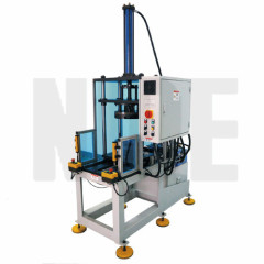 STATOR WINDING FINAL FORMING MACHINE WITH ENTER AND EXIST STATION