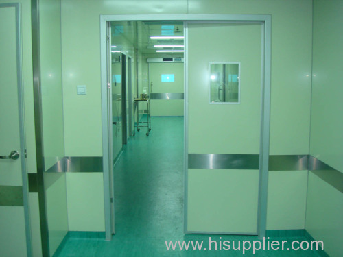Hospital operating theatre construction project