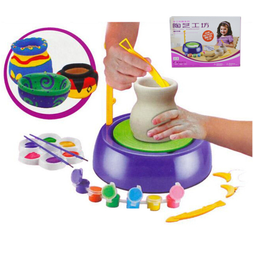 Discovery Kids Motorized Pottery Wheel Set