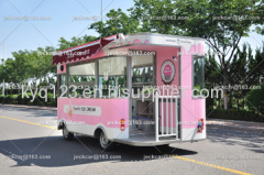 Electric car for ice cream