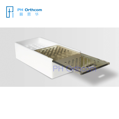 PTEF Autoclavable Screws Boxes Cannulated Screws Box Maxillofacial Screws Box Locking Screw Box