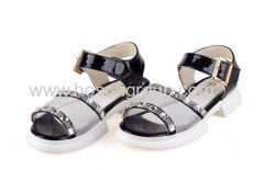 Open toe children casual sandals shoes