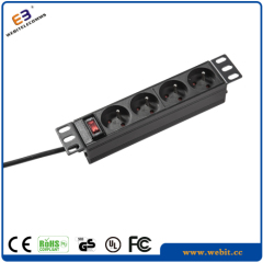 10 inch 4-way French PDU