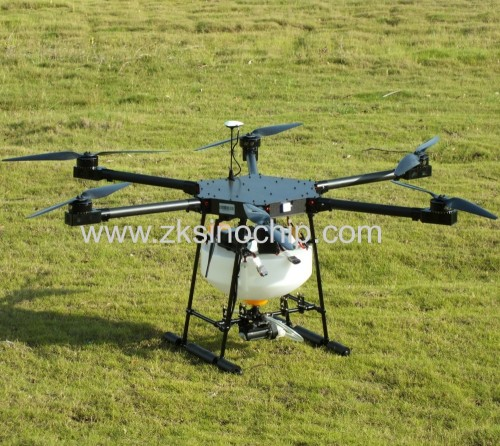 Agriculture electric spraye plant protect 6 rotors airplane loaded pesticide GPS mapping uav crop drone For Wholesale