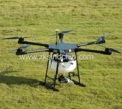 Bateria de fibra de carbono longa distância de controle agricultura drone com função automática GPS