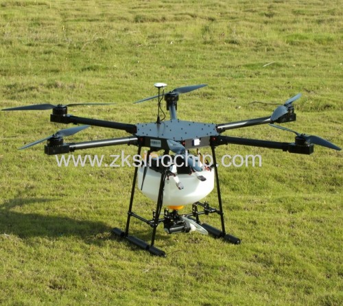 carbon fiber battery power long control distance agriculture drone with GPS automatic function