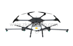 Pesticide Sprayer Drone for Agriculture Carbon Fiber 6 Rotors Loaded Pesticide GPS Mapping UAV Crop Sprayer