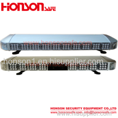 Double row led full length warning light bar vehicle police lightbar
