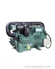 Bitzer type two stage 20hp refrigeration compressor