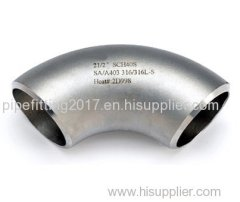 SR elbow 90 degree A234WPB carbon steel buttwelding