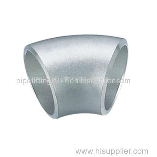 45 degree SR elbow stainless steel a403wp316l pipe fitting socket welding