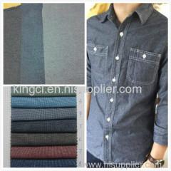 100% Cotton Denim Chambray Shirt Fabric