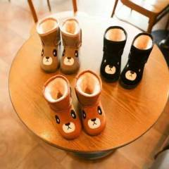 New Collection Flat Warm Kid's Boots