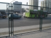 hot dip galvanized perimeter security used chain link wire fencing/wire fence