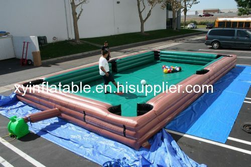 Football Game Inflatable Soccer Pool Table