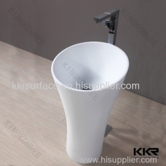 Bathroom products new design freestanding wash basin for sale