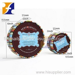 Round Chocolate Box / Luxury paper cardboard tube gift packaging flowers ribbons packaging round hat box