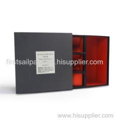 Hot! Whisky Box / Wine Packaging Box/liquor whisky vodka gin aquavit bottle box