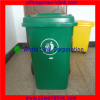 With EN840 240L Two Wheels Outdoor Plastic HDPE Waste Bin