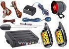 Anti Hijacking Auto Car Alarm System With Lcd Alarm Remote Controls