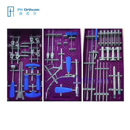 MIS Spine Internal Fixation Instruments Set Minimally Invasive Spine Internal Fixation Instruments
