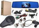 Car Auto Brake Front And Rear Parking Sensor Kit With Car High Definition Camera