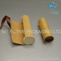 Empty bamboo lipstick tube