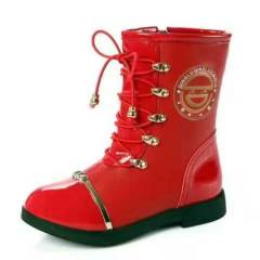 Girls Winter Snow Leather Boots