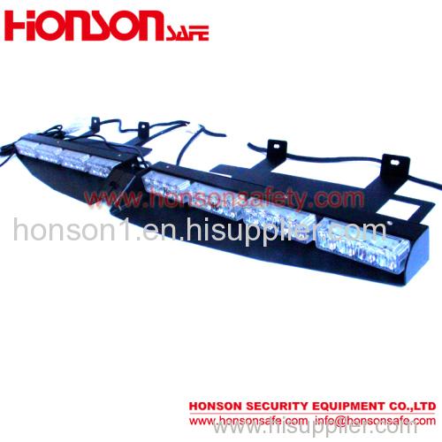 1W LED Strobe Emergency Visor traffic warning light Bar for police car