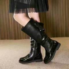 New Design Flat Leather Boots