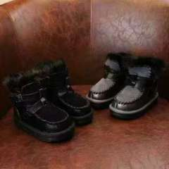 Fashion Boys Flat Boots