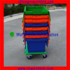 High Quality 70L Heavy Duty Moving Storage Plastic Durable Crate