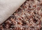 Weft Knitted PV Plush Fabric / Long Pile Faux Fur Fabric With SGS Certificate