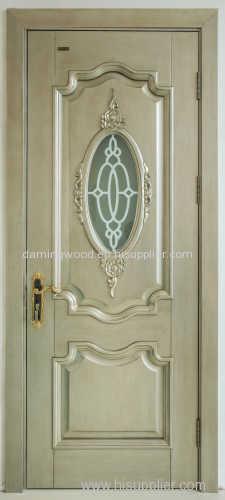 Eco-friendly solid wooden door