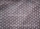 Anti - Static PV Plush Fabric For Blanket / Bedding Set 345gsm