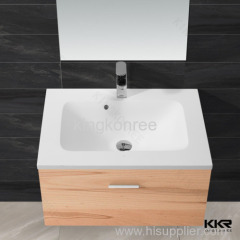 wall-hung wash basin cabinet