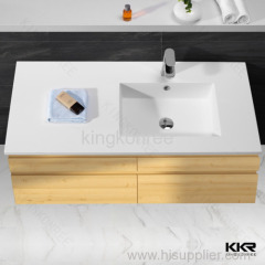 household wash hand resin solid surface basin