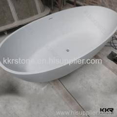 Nice quality acrylic tub resin freestanding tub