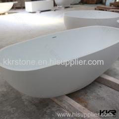 custom size bathroom resin freestanding bath tubs