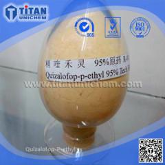 Quizalofop-p-ethyl 5% EC 95% TC herbicide CAS 100646-51-3