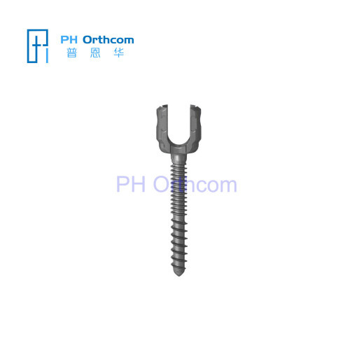MonoAxial Screw Single-shaft Pedicle Screw Single-axial Spinal Screw Spine Pedicle Screws