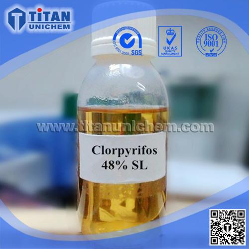 Chlorpyrifos CAS 2921-88-2 97%TC 48%EC 30%CS Chlorpyriphos insecticide