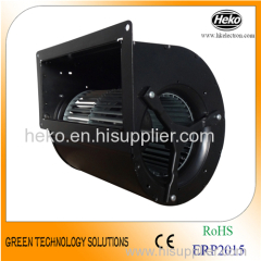 double inlet exhaust blower fan with metal scroll housing