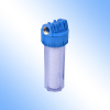 Clear water filter canister