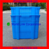 60kgs Stackable and Nestable Plastic Mesh Food Crate