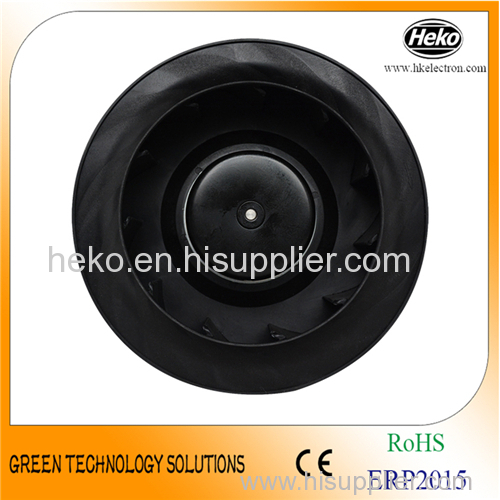 DC 250*89mm Backward Curved Centrifugal Fan
