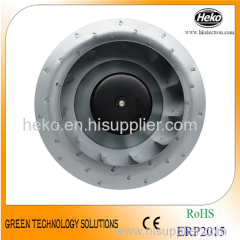 DC 250*99mm Backward Curved Centrifugal Fan